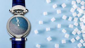 Встречайте роскошные часы с циферблатом, полностью сделанным из сахара