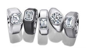 Tiffany запустила новую линию обручальных колец с бриллиантами для мужчин