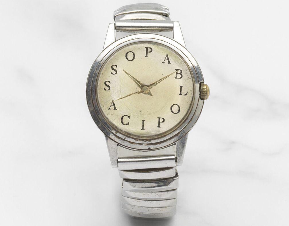 Знаменитые часы Pablo Picasso