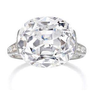 Кольцо 1910 года с бриллиантом стало самым продаваемым лотом Bonhams