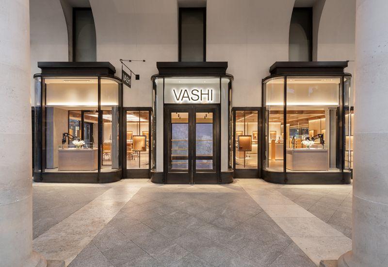Флагманский магазин бренда Vashi в Лондоне