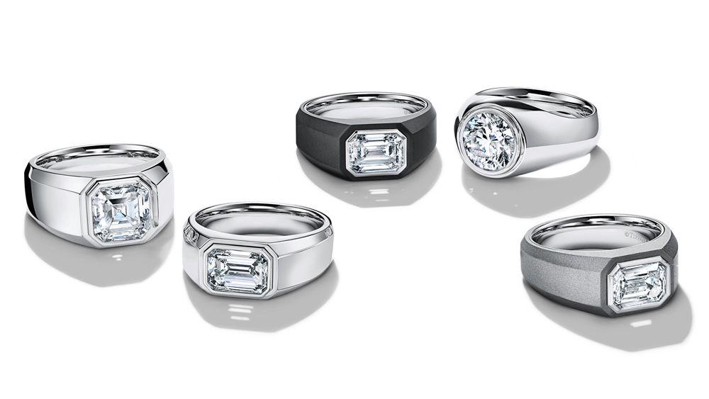 Мужские обручальные кольца Tiffany & Co.