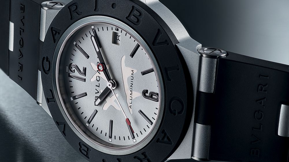 Часы Aluminium Steve Aoki от Bulgari