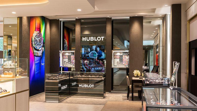 В магазине разместится самая большая брендовая зона Hublot в США