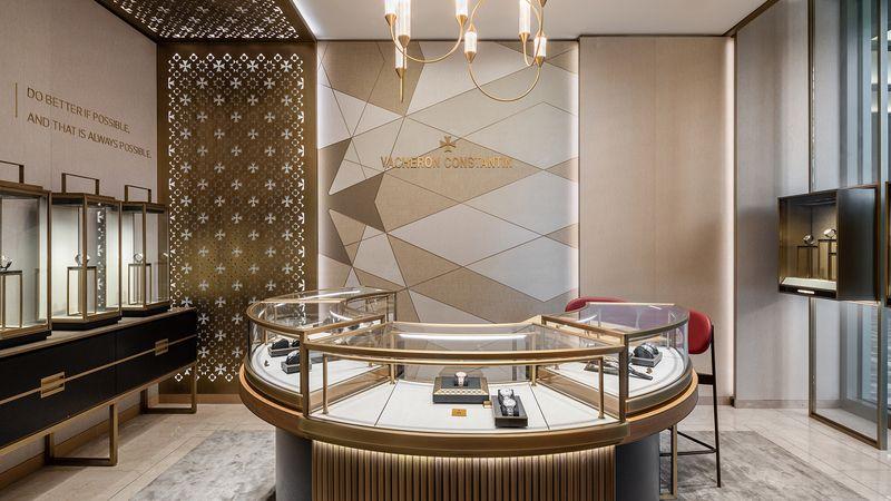Vacheron Constantin – один из четырех фирменных часовых бутиков