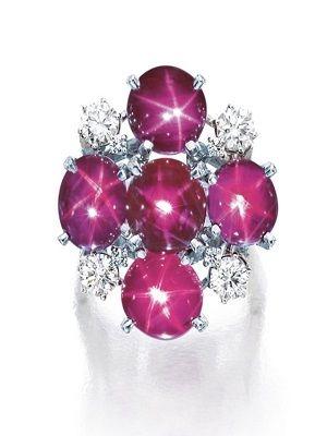 Звездчатый рубин: свойства и применение необычного камня