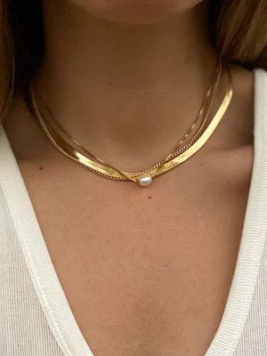 Колье из золота: особенности украшения, как выбрать и с чем носить