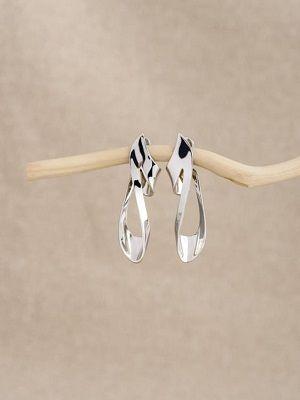 Серьги из белого золота: особенности, как выбрать и носить