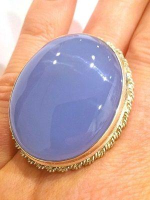 массивное кольцо с сапфирином