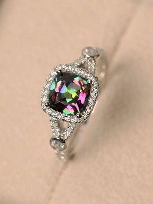 кольцо с топазом Мистик
