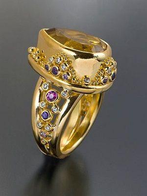 перстень из золота