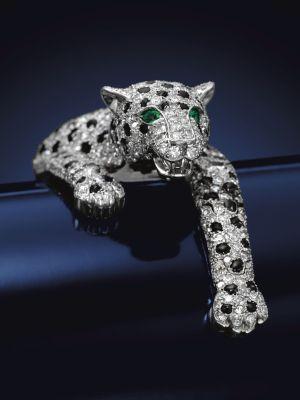 Бриллиантовый браслет «Пантера» от Cartier