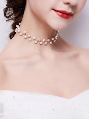 ожерелье с жемчужинами