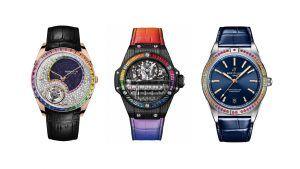 7 роскошных моделей часов в радужном стиле