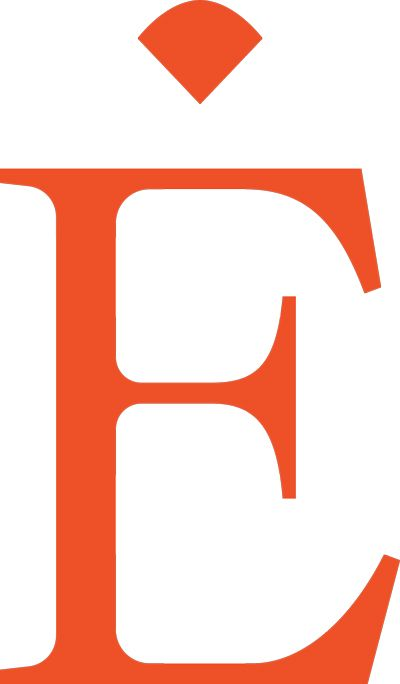 Графический логотип «E Dot» для Eriness