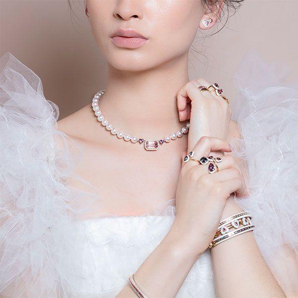 Серьга в форме сердца, серьга-гвоздик в форме сердца, кольца Elsa, кольцо Jasmine, кольцо Sunset, колье Princess Bride, многоярусные браслеты, браслет Heart
