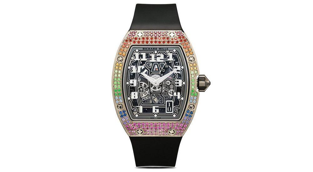 Часы Richard Mille RM 67-01 Rainbow 50 мм по индивидуальному заказу MAD Paris
