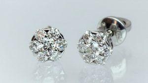 Пусеты с бриллиантами: особенности, как выбрать и носить