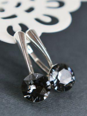 Серьги с черными бриллиантами: как выбрать свою пару