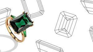 Изумрудная огранка камней: особенности «октагона»