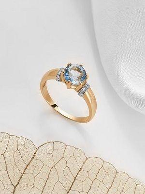 Золотые кольца с топазом: особенности, как выбрать и носить