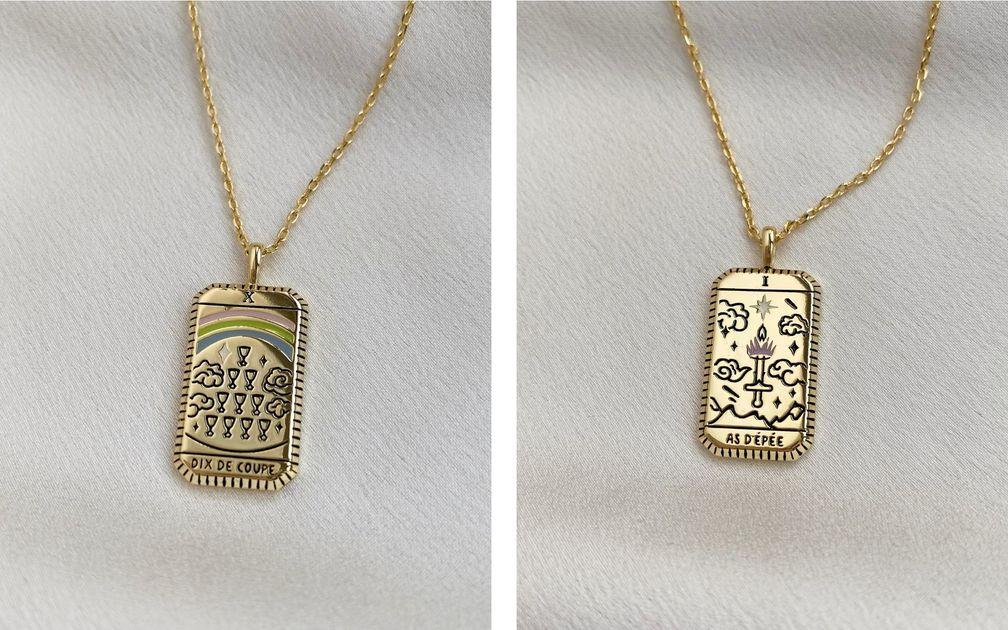 Ювелирные украшения с мотивами Таро от Wanderlust + Co – это шармы, приносящие удачу
