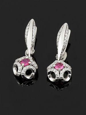 Серебряные серьги с рубином: особенности, как выбрать и носить