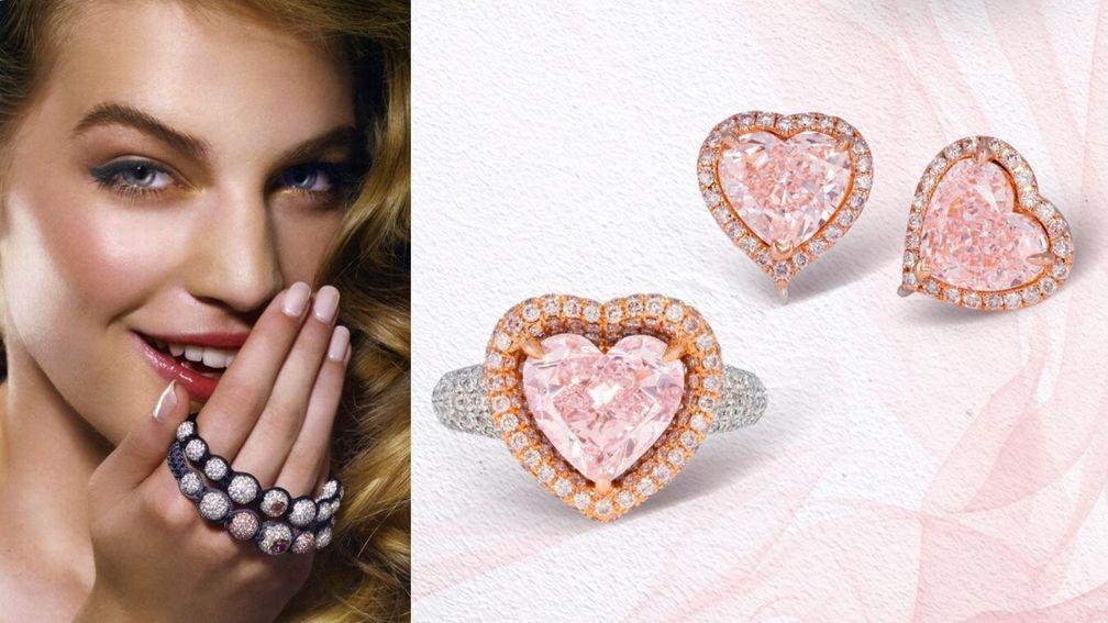 Устойчивый рост цены розовых алмазов