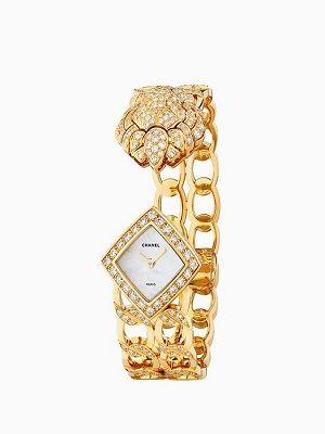 часы из желтого золота