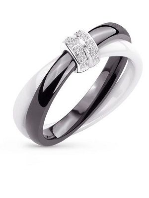 кольцо с кристаллами
