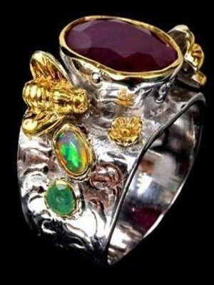 оригинальный женский перстень