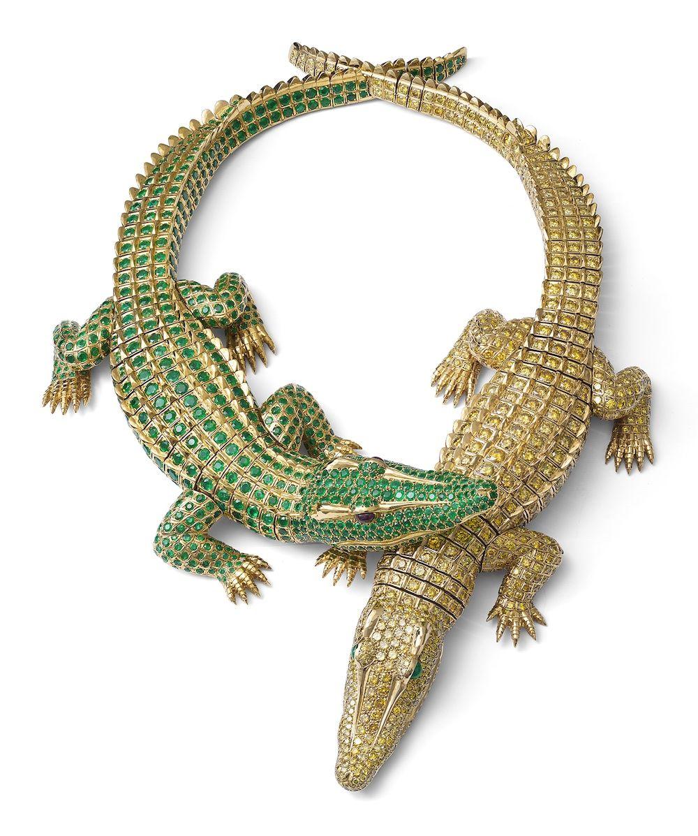 Ожерелье с крокодилами, созданное Cartier для Марии Феликс в 1975 году, стало классикой