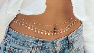 Бриллиантовые цепочки для тела – обязательное украшение лета