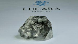 Lucara обнаружила в Ботсване массивный алмаз весом 1174 карата