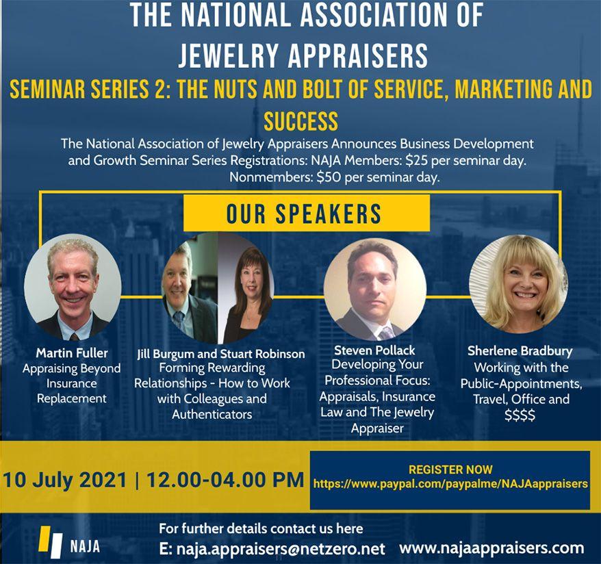 NAJA представляет второй семинар по развитию бизнеса