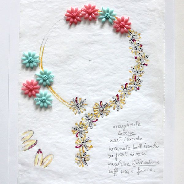 Эскизы ожерелья Margherite70 от Vendorafa
