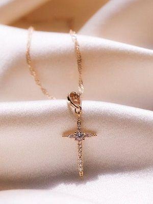 Нательные кресты с фианитами: особенности, как выбрать и носить