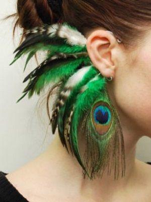 Каффы с перьями: особенности, как выбрать и носить