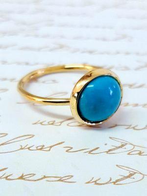 Золотые кольца с бирюзой: особенности, как выбрать и носить