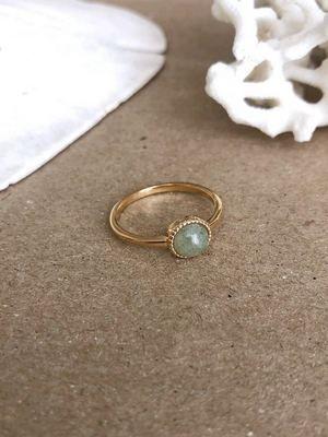 Золотые кольца с агатом: особенности, как выбрать и носить