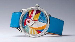 Как Hermès создает замысловатый циферблат своих новых часов Toucan
