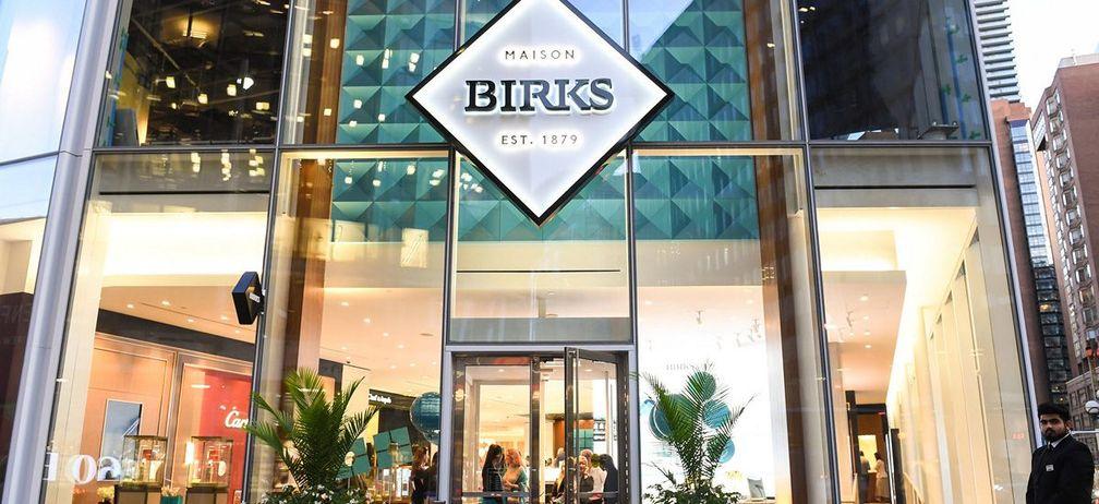 Закрытие магазинов повлияло на продажи Birks