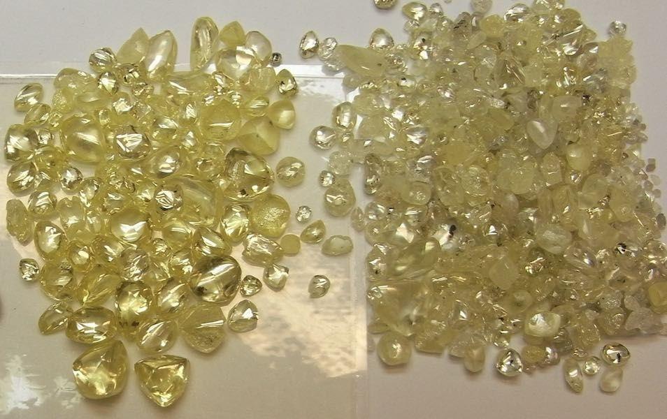 Коллекция фантазийных желтых бриллиантов, Западная Австралия