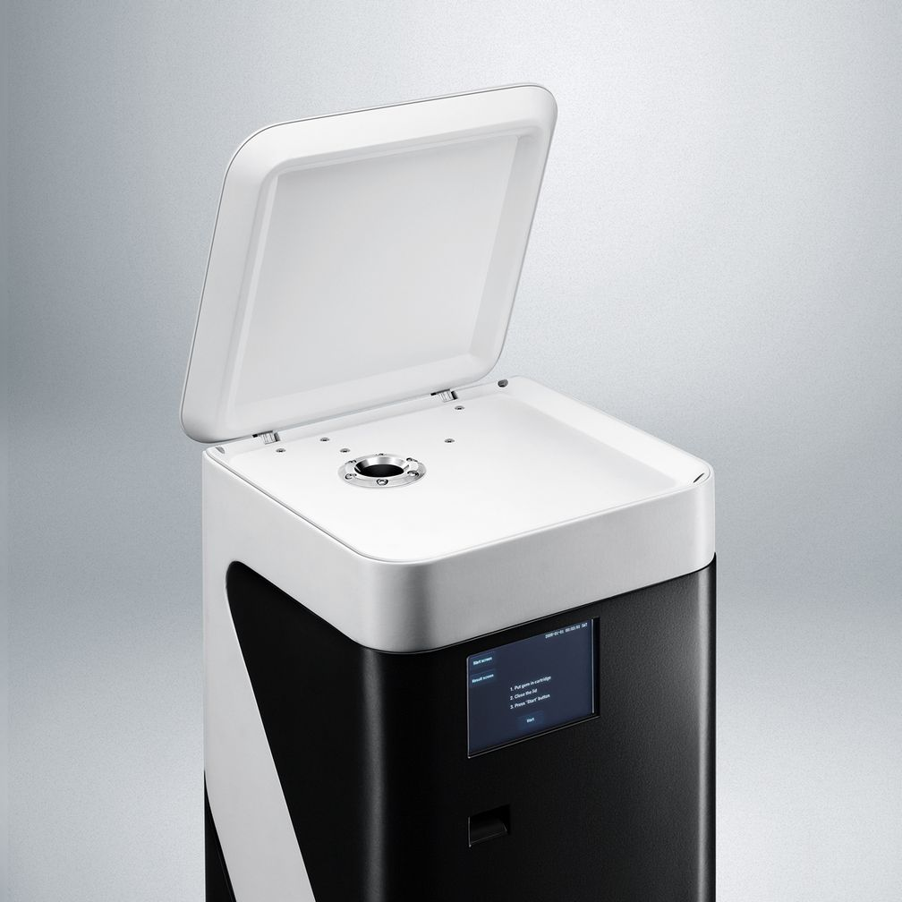 Сканер для считывания нанометок