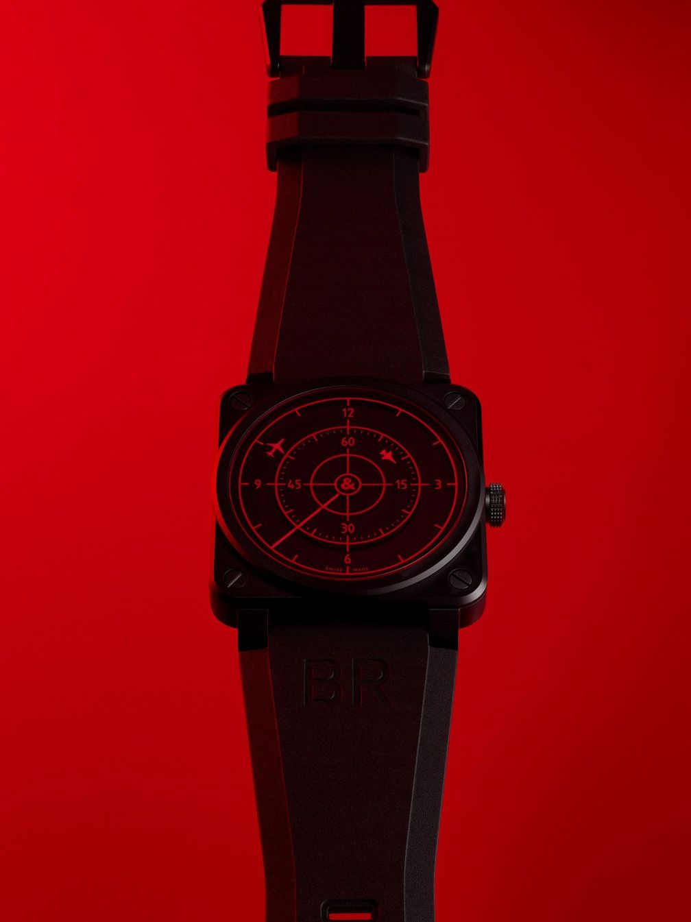 BR 03 Red Radar Ceramic от Bell & Ross