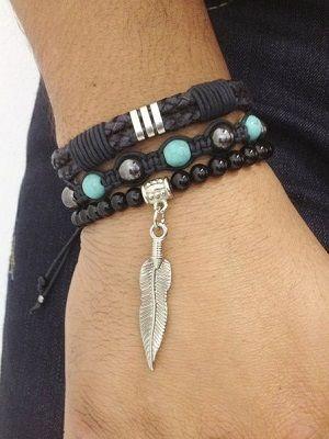 Мужские браслеты с ониксом: особенности, как выбрать и носить