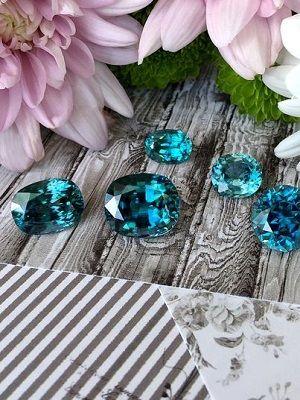Старлит (голубой циркон): свойства камня и применение