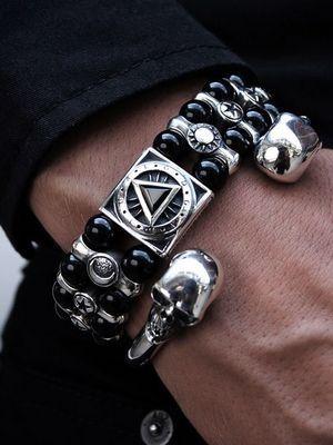 Серебряный браслет с агатом: особенности, как выбрать и носить