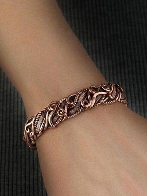 Медные браслеты: особенности, как выбрать и носить