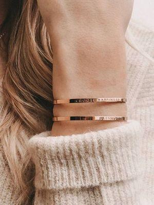 позолоченные браслеты